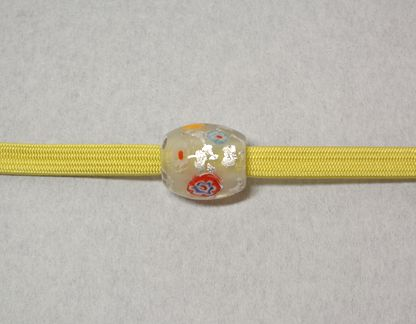 トンボ玉と三分締めとの色合わせ「3」