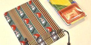 レジ袋有料化に向けての巾着の提案