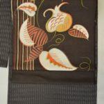 9月のご奉仕品の着物と帯