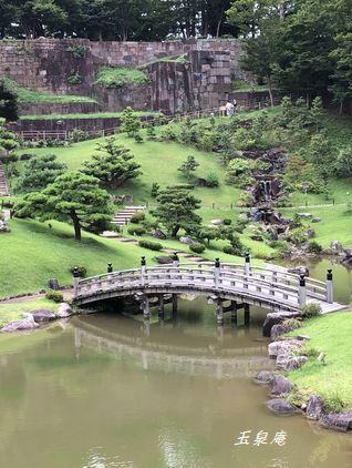 玉泉庵のお庭