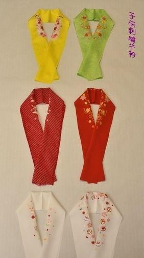 子供刺繍半衿