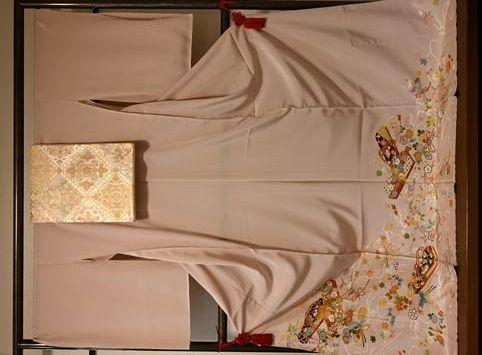 京友禅色留袖