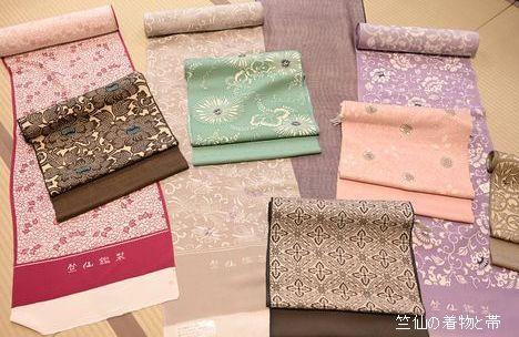 竺仙さんの着物と帯