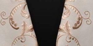 刺繍半衿/¥24,000