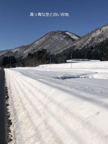 雪国が一息ついた日