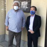 織楽浅野の会社さんと撮った写真