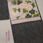 疋田小紋で秋の装い