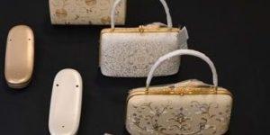 フォーマル用のバッグと草履