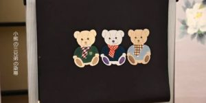 小熊三兄弟の染帯